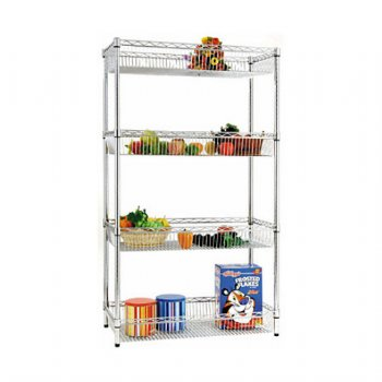 Four-Shelf Basket Shelving