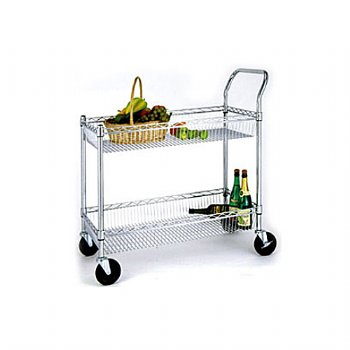 Metal Basket Cart